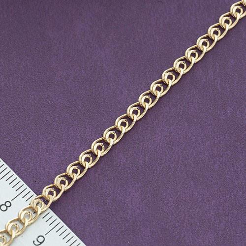 """Браслет Xuping Jewelry 19 см х 4,5 мм """"Лав"""" медицинское золото, позолота 18К. А/В 0992"""