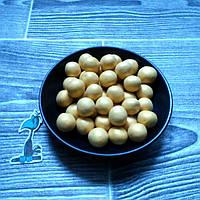 Кондитерская посыпка Воздушный рис в шоколадной глазури Золотой (12 мм) - 50 грамм