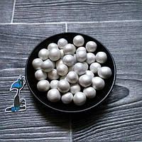 Кондитерская посыпка Воздушный рис в шоколадной глазури Жемчужный (12 мм) - 50 грамм