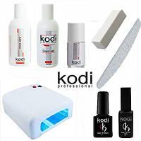 Стартовый набор гель лаков Kodi с лампой 36 Вт KM- 818 № 3