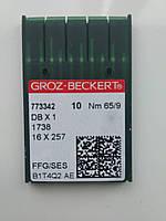 Голки Groz-Beckert. 65/9 SES DB-1