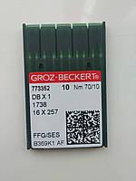 Голки Groz-Beckert. 70/10 SES DB-1