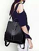 Рюкзак женский городской Gou сумка Черный, фото 4