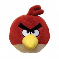 Мягкая игрушка - ANGRY BIRDS (птичка красная, озвуч.,  40см)