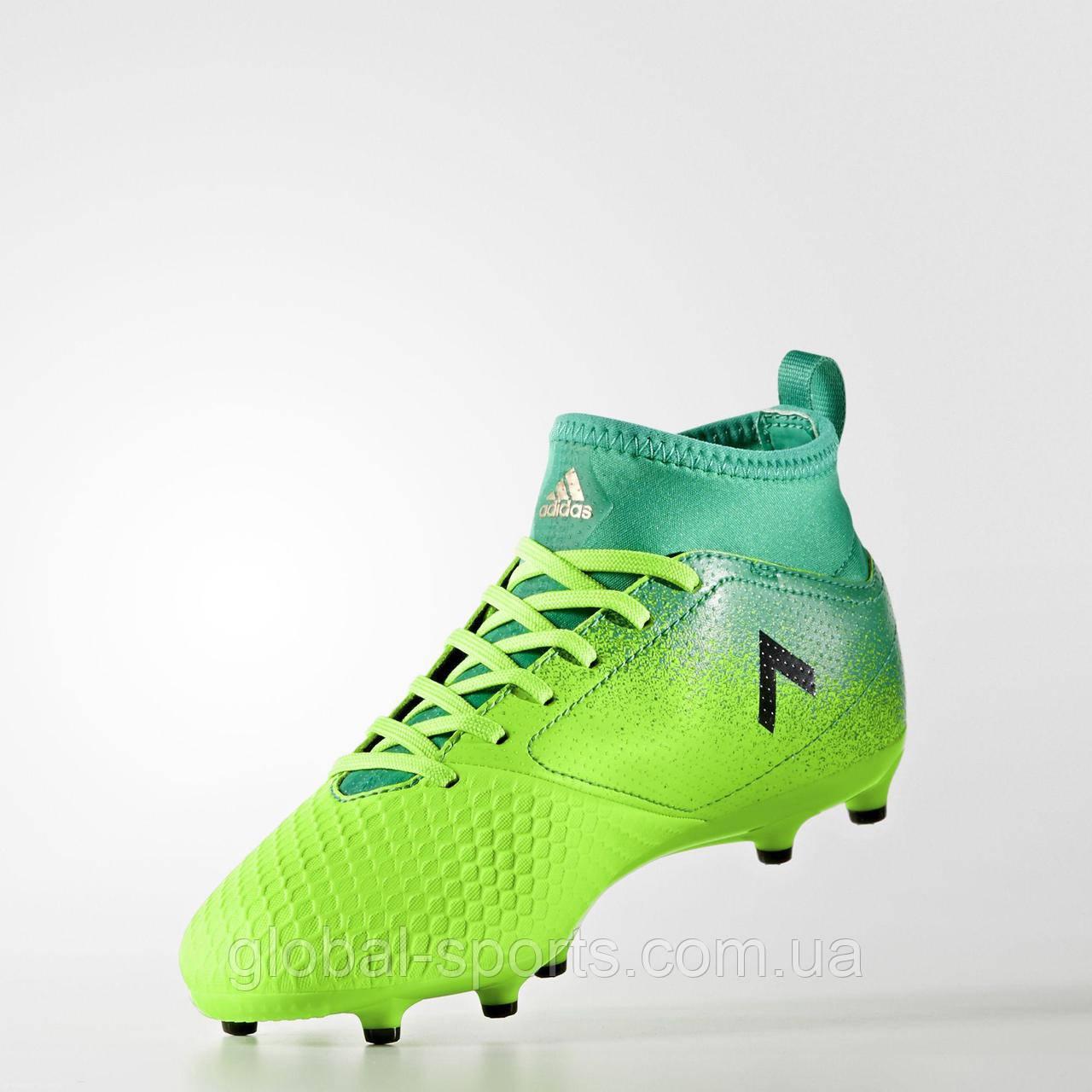 acaf5a44 Детские футбольные бутсы Adidas ACE 17.3 FG J (Артикул:BB1027) - магазин  Global