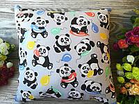 Подушка веселые панды , 35 см * 35 см