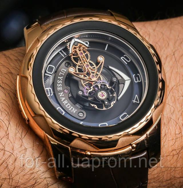 Необычные часы Ulysse Nardin Freak Cruiser