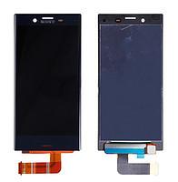 Дисплей (экран) для Sony F5321 Xperia X Compact с сенсором (тачскрином) синий