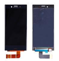 Дисплей (экран) для Sony F5321 Xperia X Compact с сенсором (тачскрином) синий, фото 2