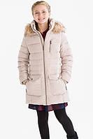 Подростковая зимняя куртка пуховик на девочку 11-12 лет C&A Германия Размер 152