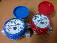Счётчик воды Gross ETR-UA Ду15/80, Ду15/110 одноструйный крыльчатый