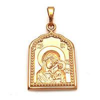 Ладанка Xuping Божья матерь с младенцем 3.4см л317