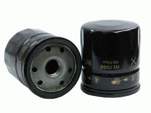 Масляный фильтр Wl7086-12 для Alfa, Renault, Suzuki, Peugeot, Fiat, Citroen