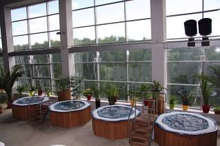 Банный спа комплекс - зона отдыха + бассейны спа переливные 2