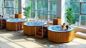 Банный спа комплекс - зона отдыха + бассейны спа переливные 3