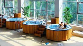 Банный спа комплекс - зона отдыха + бассейны спа переливные 4