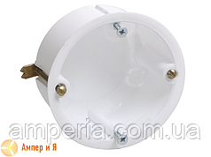 Коробка КМ40021 установочная для полых стен, метал. лапки (UKG10-065-040-000-M)
