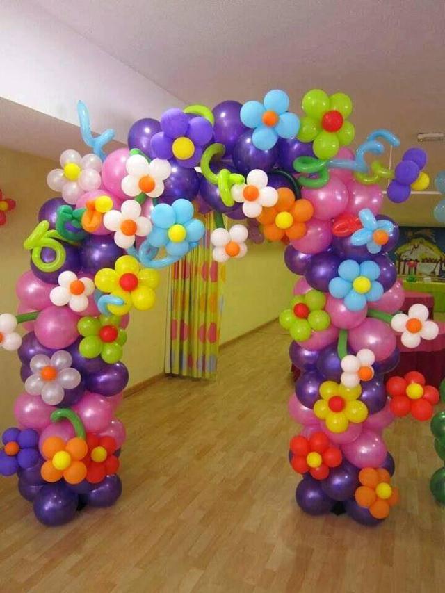 Украшение воздушными шариками в Днепре