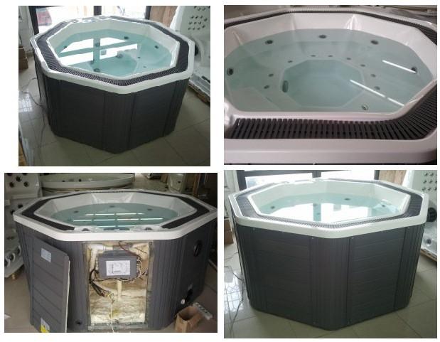 Банный спа комплекс - зона отдыха + бассейны спа переливные