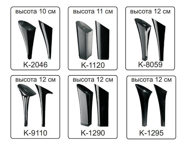 Каблуки женские пластиковые «Сталекс»  высота 10-12 см.