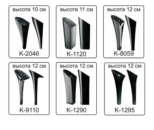 Каблуки женские пластиковые «Сталекс»  высота 10-12 см., фото 2