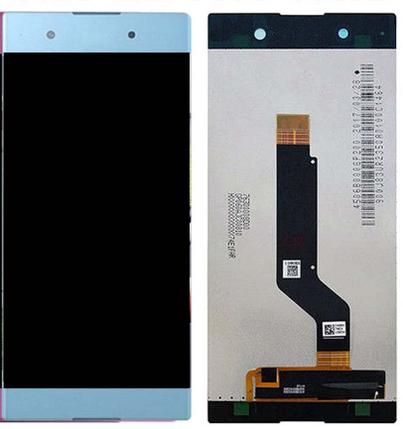 Дисплей (экран) для Sony G3412 Xperia XA1 Plus Dual с сенсором (тачскрином) синий, фото 2