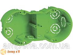 Коробка КМ40023 уст. 2 мест d141х70x45 для полых стен (UKG20-141-070-045-M)