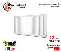 """""""Радиатор стальной, марки RADIATORI 300*1800, (произведен в: Турция, 22 класс, высота 300мм)"""""""