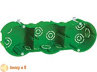 Коробка КМ40024 уст. 3 мест. d212х70x45 для полых стен (UKG30-212-070-045-M)