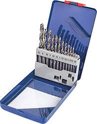 Набор свёрл по металлу Р6М5 белых 25 шт 1-13 мм MIOL 22-100