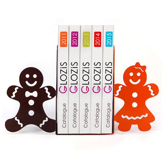 Упоры Для Книг Glozis Упоры для книг Glozis Gingerbread