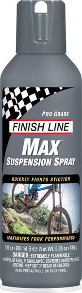 Спрей-смазка Finish Line MAX - Pro-grade Suspension Spray - 9oz (266ml Aerosol)