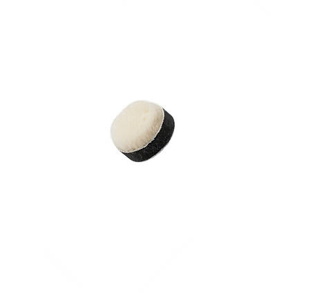 """Полировальный круг короткошерстный - Flexipads PRO-Wool Detailing 32 мм. (1.2"""") бежевый (PW100) 5 шт., фото 2"""