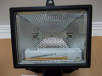 Прожектор ИО 500Д галогенный черный, фото 1
