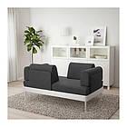 Диван 2-местный IKEA DELAKTIG Hillared антрацит 192.537.71, фото 3