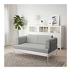Диван 2-местный IKEA DELAKTIG Tallmyra белый серый 892.577.42, фото 3
