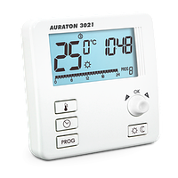 Auraton 3021 - Недельный программатор, 2 уровня температуры, компактный корпус, 16А