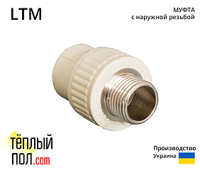 """Муфта наружн.резьба, марки LTM 50 1.1/2 ППР(производство: Украина)"""