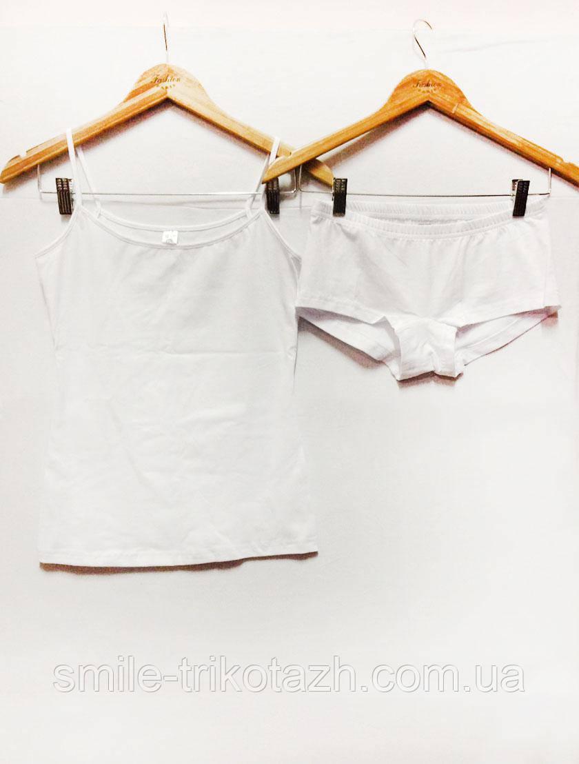 Комплект женский фуликра белый, 48