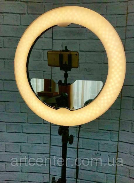 Лампа светодиодная для визажиста, лампа для фотографа (модель Мультисвет ПРОФИ LED)