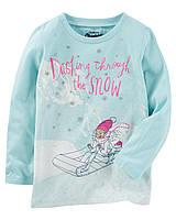 Реглан OshKosh Originals Graphic Tee, голубой, на 7 лет, фото 1
