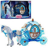 Карета сказочной Принцессы 216В с лошадкой, фото 3