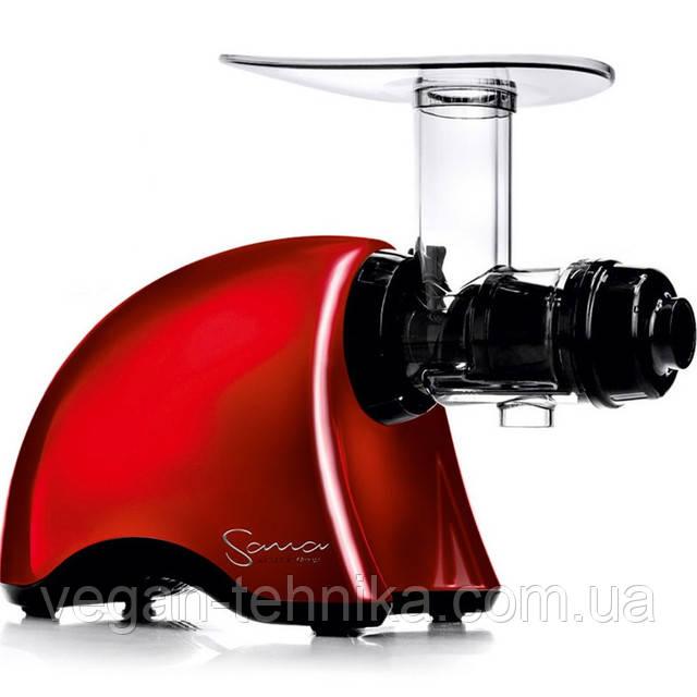 Шнековая соковыжималка Sana Juicer by Omega EUJ-707 Red