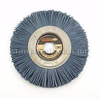 Щетка-пиранья дисковая для УШМ 150х12х22 мм P180 (синяя), фото 1