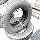 Шины б.у. 235.65.r16с Dunlop Econodrive Данлоп. Резина бу для микроавтобусов. Автошина усиленная. Цешка, фото 3