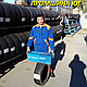 Бусовские шини б.у. , гума бо 235.65.г16с Dunlop Econodrive Данлоп, фото 4
