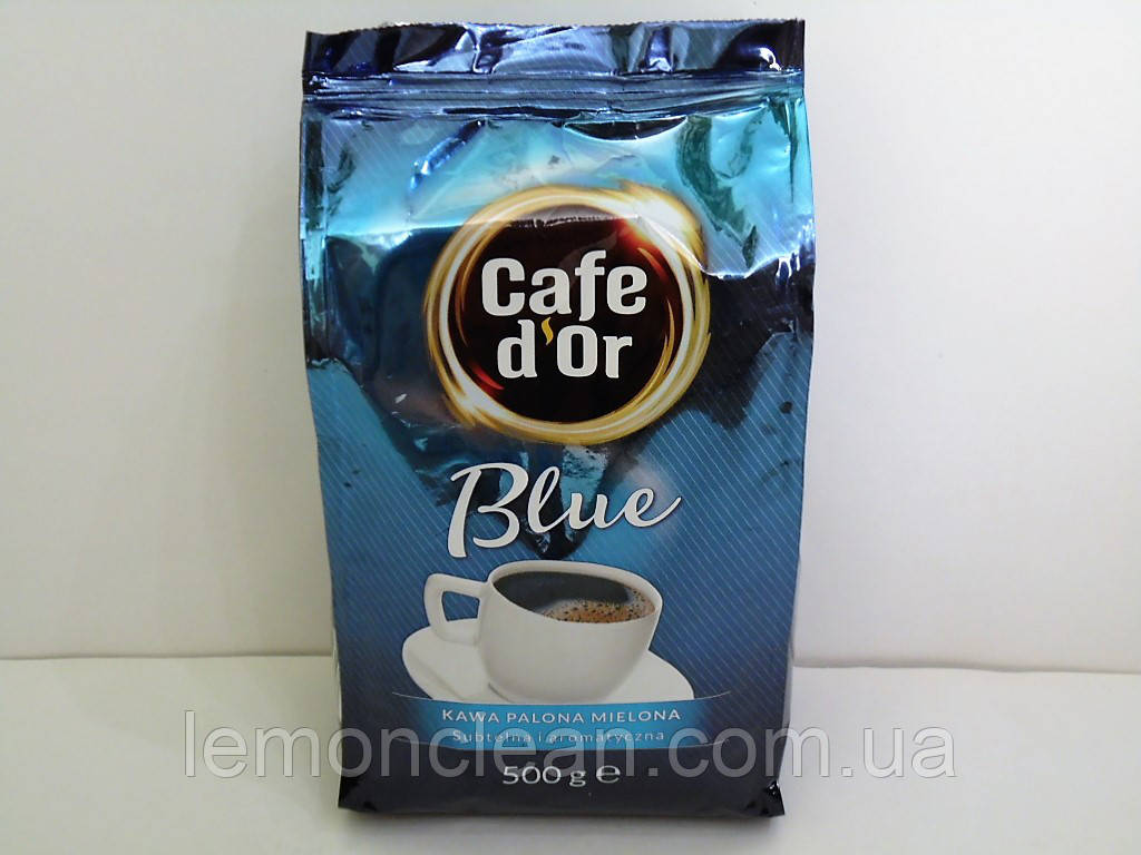 Кофе молотый Cafe d'Or Blue kawa palona mielona 500г