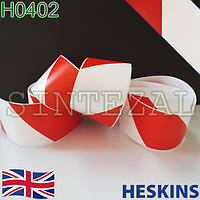Предупреждающая двухцветная лента Heskins (гладкая)., фото 1