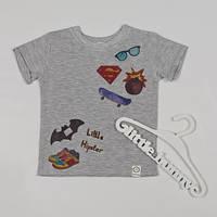 Детская футболка летняя с термо аппликацией, фото 1