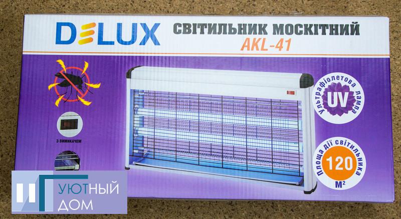 Светильник для уничтожения насекомых Delux AKL-40